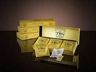 TWG Singapore - Luxury Teas - CREME CARAMEL - 15 Hand sewn pure cotton tea bags