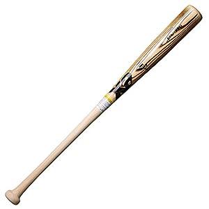 """ザナックス(XANAX) 野球 バット 硬式 木製 スタンダード型 トラスト BHB1204 ナチュ(焼き加工) 84cm 日本製"""""""
