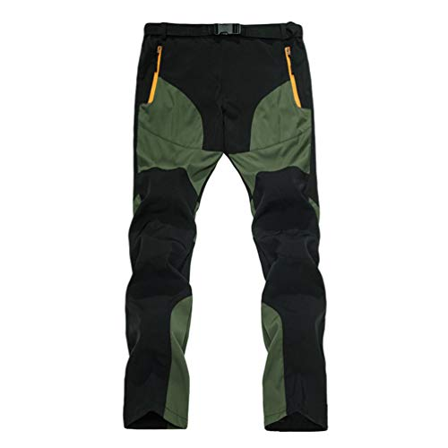 Cayuan Uomo Pantaloni da Arrampicata Estivi Asciutto Veloce Elastici Traspirante Pantaloni da Carico di Montagna