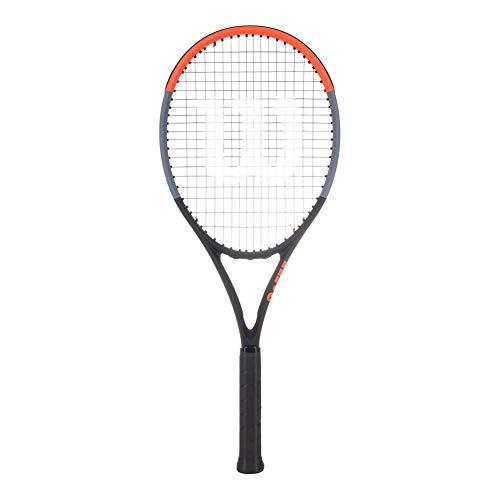 WILSON Tennisschläger Clash 100' unbesaitet schwarz/rot (701) 1