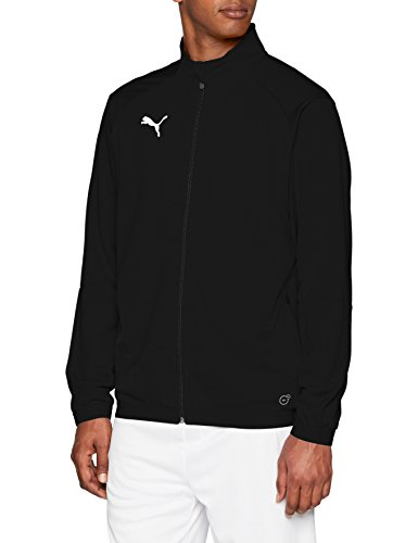 PUMA Herren Liga Training Jacke, Schwarz (Puma Black-Puma White), XL