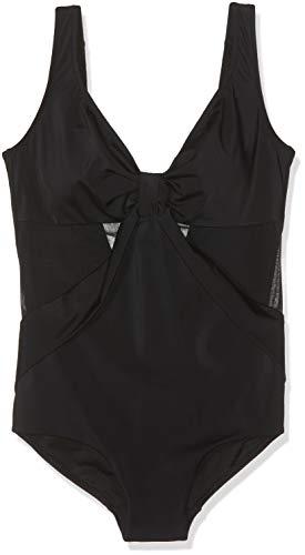 Lovable Elegance Shapewear Bañador, Negro (Negro 004), 36 (Talla del Fabricante: 40...