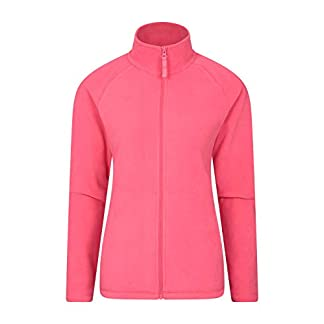 Mountain Warehouse Stylish Raso Womens Fleece – Lightweight Ladies Sweater, Quick Drying Pullover, Warm, Soft & Smooth - Ideal for Winter Travelling, Walking 2