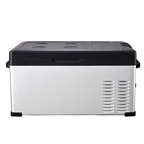 KLFD Refrigerador para Auto, Congelador Doméstico de 30L, Control De Bluetooth, Freezer con Compresor de 12 / 24V, Enfriamiento Rápido de 20 ° a -20 °, para Automóviles, Dormitorios, Viajes