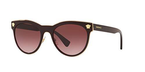 Versace 0VE2198 Gafas de sol, Burgundy, 54 para Mujer