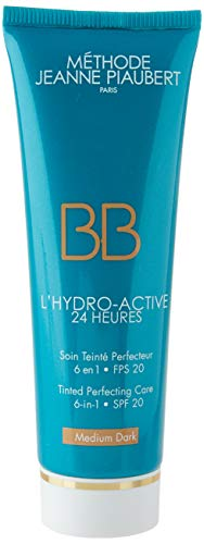 Méthode Jeanne Piaubert Unisex Active Jeanne PIAUBERT L'HYDRO-AKTIV BB Cream MEDIUM Dark 50ML, Beige, 50 ML