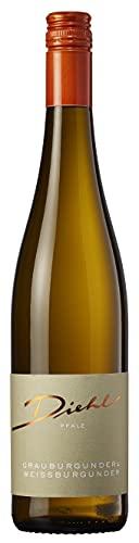Weingut Diehl Grauburgunder Cuvée – Trockener Weißwein aus der Wein-Region Pfalz (1 x 0,75l)