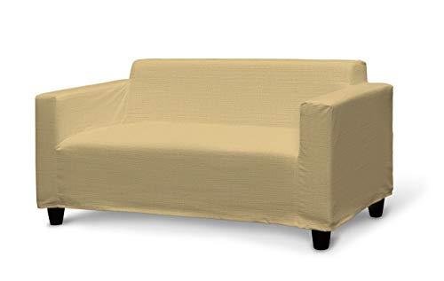 Dekoria Klobo Sofabezug Sofahusse passend für IKEA Modell Klobo Sandfarben, beige