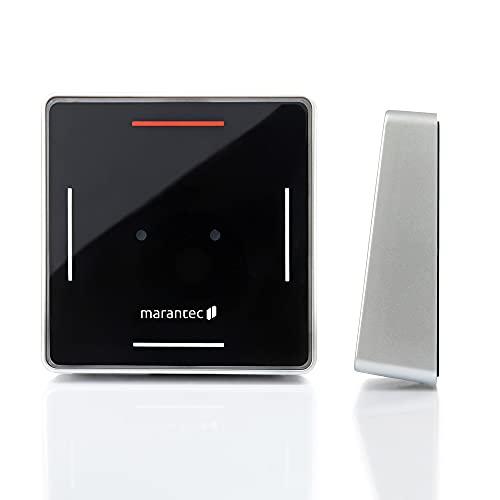 Marantec Digital 644 Wandsender 868 MHz, 2-Kanal Drucktaster für Marantec Garagentorantriebe, Schwarz