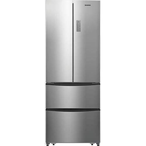 Hoover HMN7182IXK Freestanding American Fridge Freezer, Frost Free, 404L capacity, 70.4cm wide,...