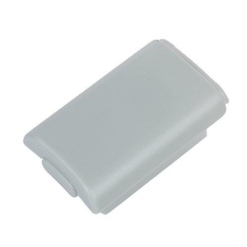 REFURBISHHOUSE Sostenedor Cubierta Caja Paquete cascara de bateria de reemplazo Blanco para Microsoft Xbox 360 Controlador inalambrico Mando de Juego