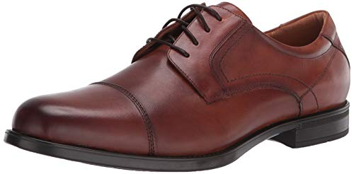 Florsheim mens Medfield Cap Toe Oxford Dress Shoe, Cognac, 10.5 US