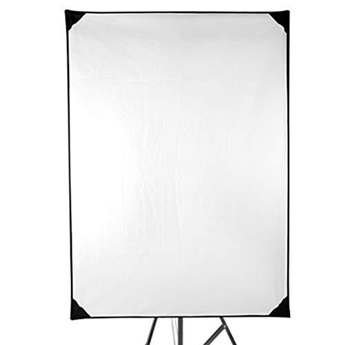 BGROESTWB Fotografie-Reflektor Professionelles Fotozubehör 4-in-1-Metall-Flag-Panel-Set mit 360 Grad drehbare Halter Fotografie Studiobeleuchtung und Außen Lighti