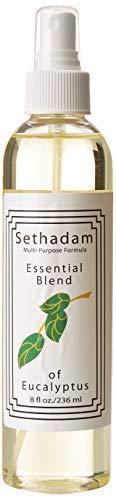 Essential Oils Blend for Congestion and Pain Relief, Eucalyptus/Lavender Spray (Eucalyptus, 8 ounce)