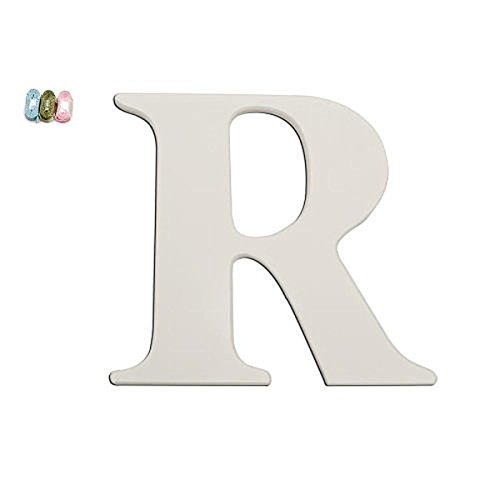 Babies'R'Us R Wooden Personalizable Letter Wall Decor White