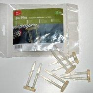 Plantex® 12 Bio Befestigungspins 8 cm von DuPont™ für Unkrautvlies und Gartenvlies