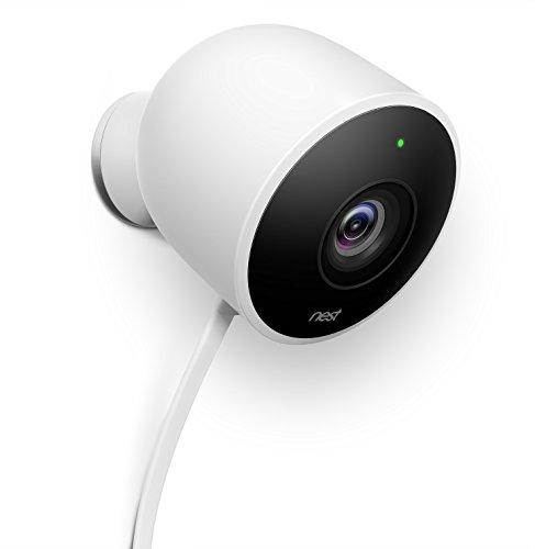 Google Nest NC2100IT Videocamera di Sicurezza, Bianco