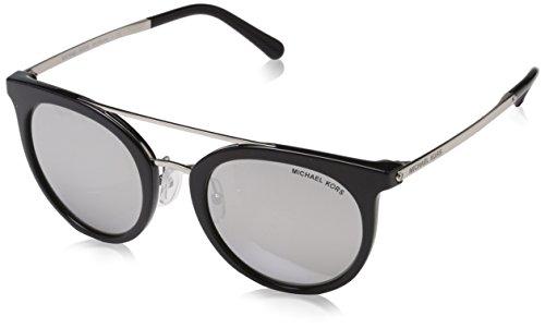 Michael Kors Ila, Gafas de Sol Unisex Adulto, Negro (Black 32716G), 50