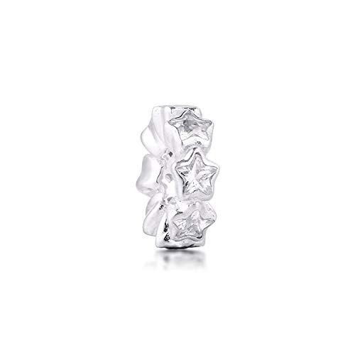 XIYANG DIY Passt Für Original Pandora Armbänder 925 Sterling Silber Fit Pandora Armband Klar Cz Starshine Spacer Perlen Charms Schmuckherstellung