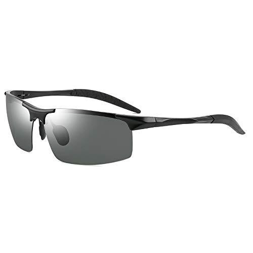 KJDS Gafas de sol polarizadas para hombre, pesca, golf, correr, ciclismo, UV400,...