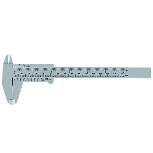 Micrometer Measurement Tool, Plastic Caliper, Vernier Caliper, 150Mm Recision Measuring Tool for Line Lip Measurements Permanent Makeup Measurements