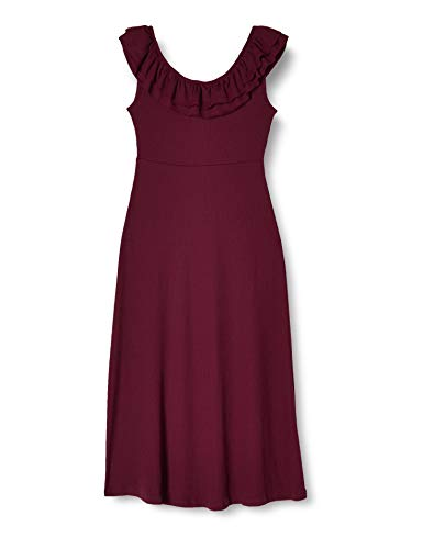 Only Onlfiesta S/l Dress Jrs Vestido, Higo, M para Mujer