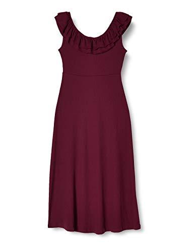 ONLY Damen ONLFIESTA S/L Dress JRS Kleid, Fig, M