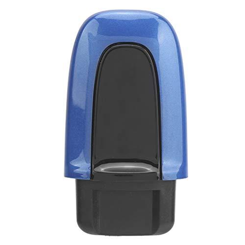 Interruptor de arranque de encendido Cubierta decorativa Cubierta de botón de arranque/parada ABS Ajuste antiarañazos para Porsche Cayenne/Macan/Panamera(azul zafiro)