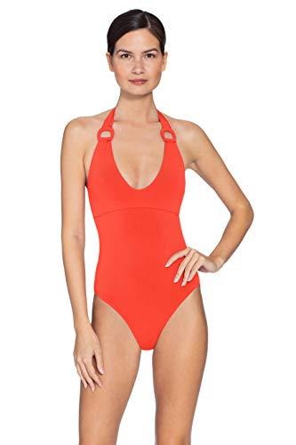 Robin Piccone Women's Kate Scoop Neck One Piece Swimsuit Sunrise 6