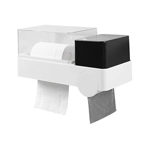 Toiletrolhouder Ego Adhesive muurbevestiging toiletrolhouder met regenjas en stof te dekken van toepassing Roll papier vouwen papieren handdoek Multifold Paper Towel Dispenser Home Kitchen supplies
