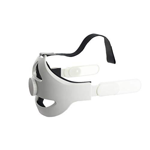 Head Strap Compatible for Oculus Quest 2 VR Comfortable Adjustable VR Glasses Headband Belt Head Strap Reduce Head Pressure Protect Head Compatible for Oculus Quest 2 Accessories Comfortable Head Pad