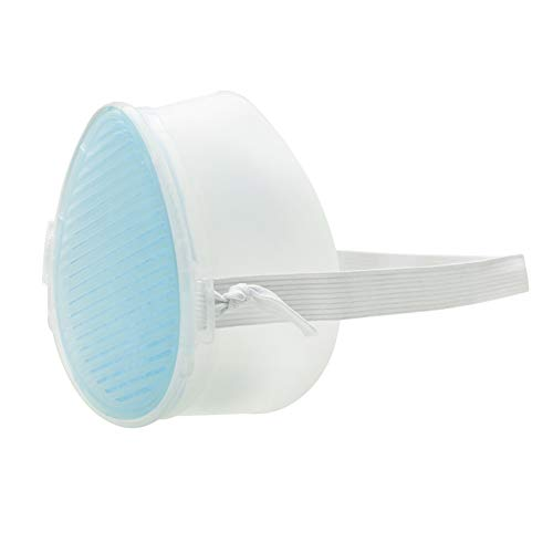 Alloyseed Filtro 10p Respiratore con 1 Pezzo di Banda K3 Dispositivi di Protezione Individuale elettrici Filtrazione a Tre Strati per purificazione dell'Aria Antipolvere