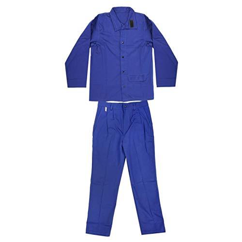 Verschleißfeste, verzögerte Kleidung Stehkragen Sicherheit Arbeitskleidung, für die Metallverarbeitung, zum Schweißen(L)