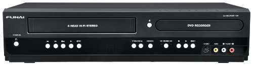 Our #1 Pick is the Funai Combination VCR and DVD Recorder