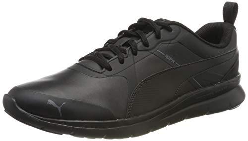 PUMA Herren Flex Essential Sneakers Schwarz (Black Black) - 43 EU