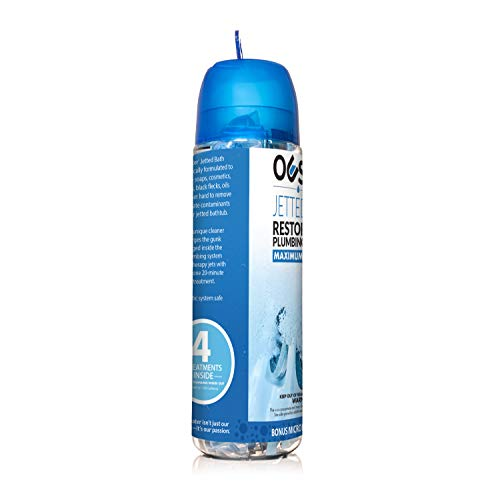 Ouster Jetted Bath Cleaner and Purge – Removes Black Flecks and Gunk