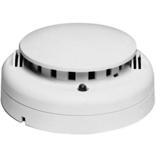 GE Security 721UT 2-Wire Fast Response Photoelectric Smoke Detector, w/Remote Alarm/Trouble LED, and Heat Sensors, 12/24VDC. Fast Response Photoelectr