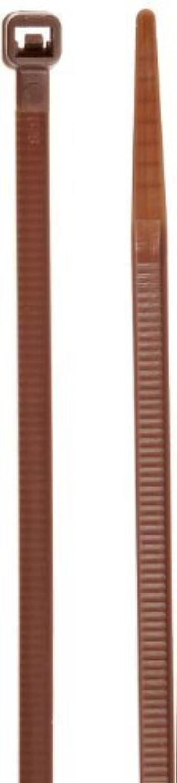 NSI Industries 530-1 Standard Cable Tie, 30lbs Tensile Strength, 1-1 4  Bundle Diameter, 0.130  Width, 5.6  Length, braun (Pack of 100) by NSI Industries (English Manual) B00NJA7LI2 | Verrückter Preis, Birmingham