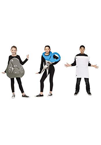Rock Paper Scissors Costume - One Size