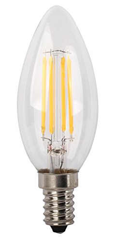 LYO LED-lampen, E14, 4 W, grijs - transparant