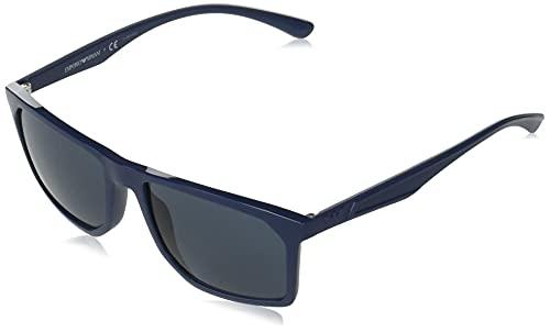 Emporio Armani Occhiali da sole EA4164 508187 occhiali Uomo colore Blu lente blu taglia 57 mm