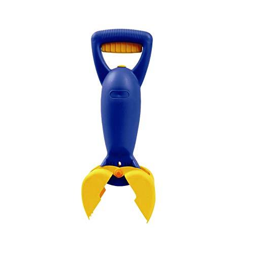 QIMANZI Strandspielzeug für Kinder,Hand-Sandbagger Sandspielzeug Handbagger Sand Snapper Sandschnapper Kinderhandbagger für Strand & Sandkasten Schaufel