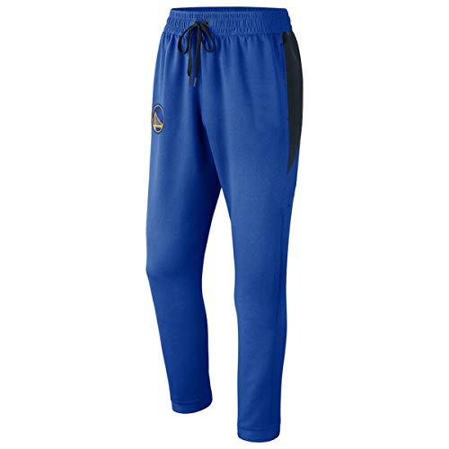 SHR-GCHAO para Hombre del Ajustado De Chándal Jogging Pantalón - NBA State Warriors De Golden Gym Pantalón De Entrenamiento Cómodos Pantalones De Chándal,Azul,M(165~170cm)