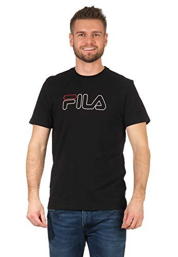 Fila Paul tee Up Camiseta, Negro (Black 2), Small para Hombre