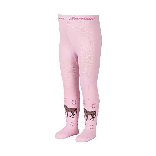 Sterntaler baby-meisjes paard collants, roze, 74 panty's, roze (roze 702), één maat (fabrieksmaat