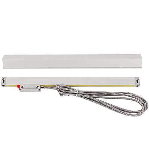 Codificador de escala lineal Sensor de regla de rejilla de 5μm para fresadora de torno, paso de 0.02 mm DC 5V(300)