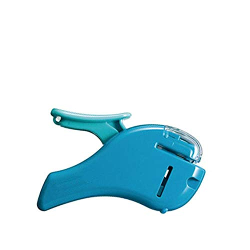 Naaldloze nietmachine druk, geen bestelling, Mini lucht, geen nagels, Duurzaam Blauw