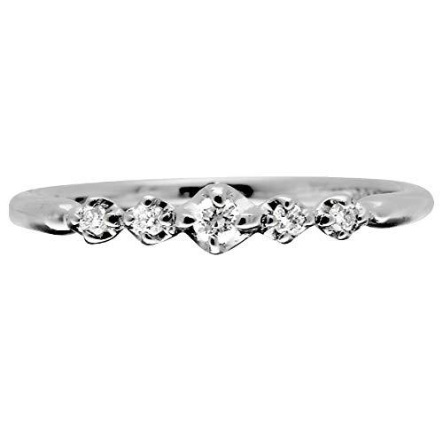[ココカル]cococaru ダイヤモンド リング プラチナ Pt900 指輪 4号 ピンキーリング 天然 ダイヤ 日本製