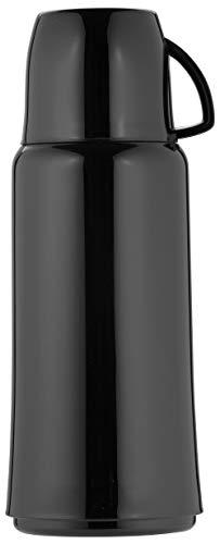Helios Elegance Kunststoff-Isolierflasche 1,0 l schwarz