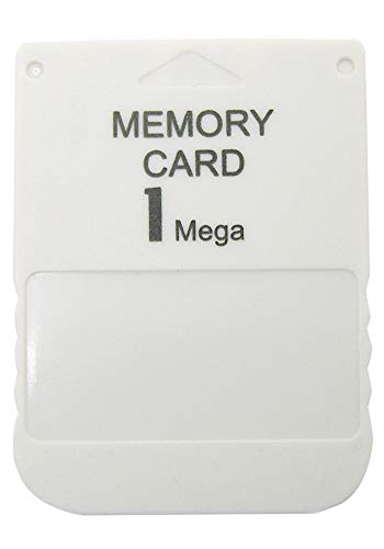Gamer Gear 1MB PS1 15 Block Memory Card (PlayStation 1, PS One, PSX, PS2) G